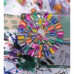 Cheselyn Amato_War & Peace_Glue-on Fingernail Mandala, Children's Drawings, and Packing_07