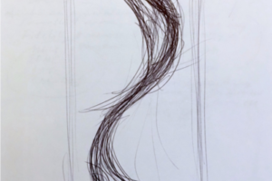 Uncontrollable Beauty, Drawings for Full-scale Installation (1-7), 2016