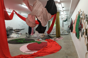 Uncontrollable Beauty | An Odyssey | 231 Jewels | Journey to Mount Sinai | Everything We Need is Always With Us, 2016, Interdisciplinary Installation with sound and performance, 2016, AXIS Gallery, Sacramento, CA