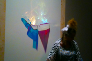 Ritual Performance, Still #1, during Opening Event, Reinventing Ritual, The Jewish Museum NYC, 2009