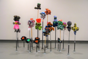 Flower Garden (22/231-On the Way to Ecstasy, UC Davis Nelson Gallery, 2008