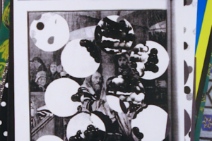 Women in the Tabernacle (2), 2004, Archival digitally-printed collage, 34inHx22inW