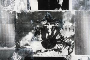 The Tikkun/Healing Glossaries (3), 1995, Matte medium transfer on paper, 30inHx22inW, Collection Spertus Institute of Judaica, Chicago, IL