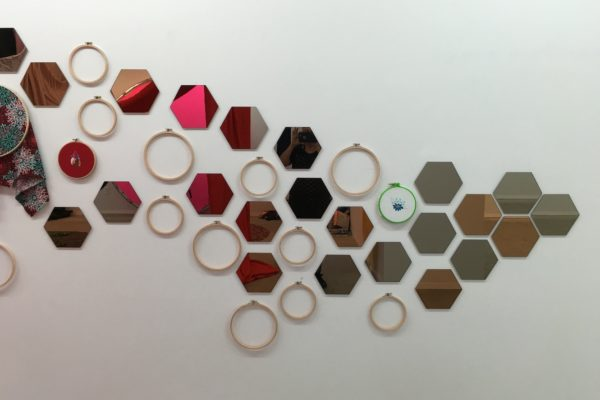 9. Flying Flock of Hoops and Hexagons_Detail 1