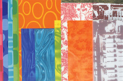 Textile Collage (Placemats, Napkins and Deathcamps)