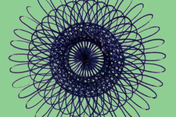 2. Spiro Mandala in Green
