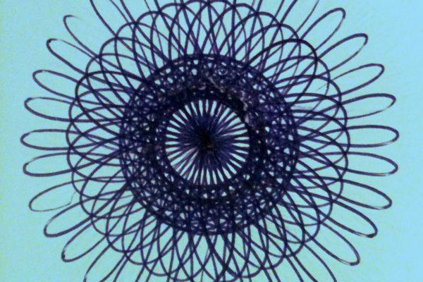 4. Spiro Mandala in Blue