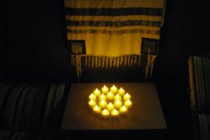 Inside the Sukkah (5), Sukkot 2009