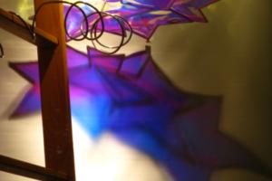 Efflux (Blue & Violet #1), Liberation Garden, detail, 2010