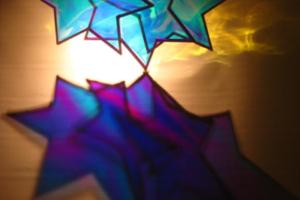 Efflux (Blue & Violet #2), Liberation Garden, detail, 2010