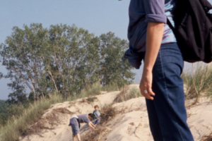 Sacred Family-Gathering the Tribe (#1), Ritual at the Indiana Dunes, Rosh Hashanah 2000