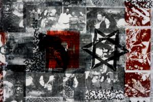 The Tikkun/Healing Glossaries (2), 1995, Matte medium transfer on paper, 30inHx22inW, Collection Spertus Institute of Judaica, Chicago, IL